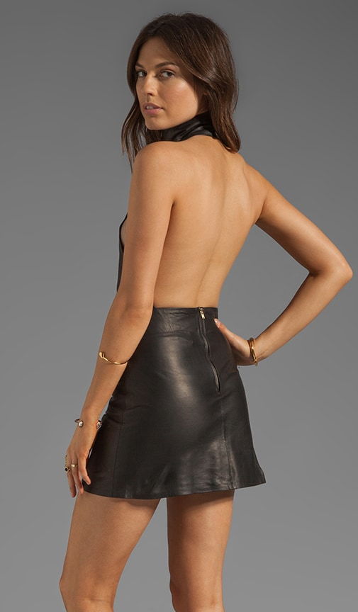 Knicks Leather Dress
