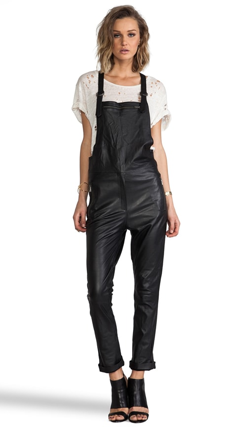 Maverick Leather Overalls
