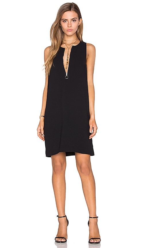 Half Zip Shift Dress