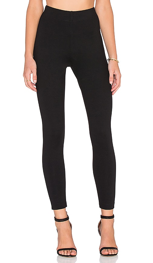 Fifteen Twenty High Waisted Skinny Pant in Black