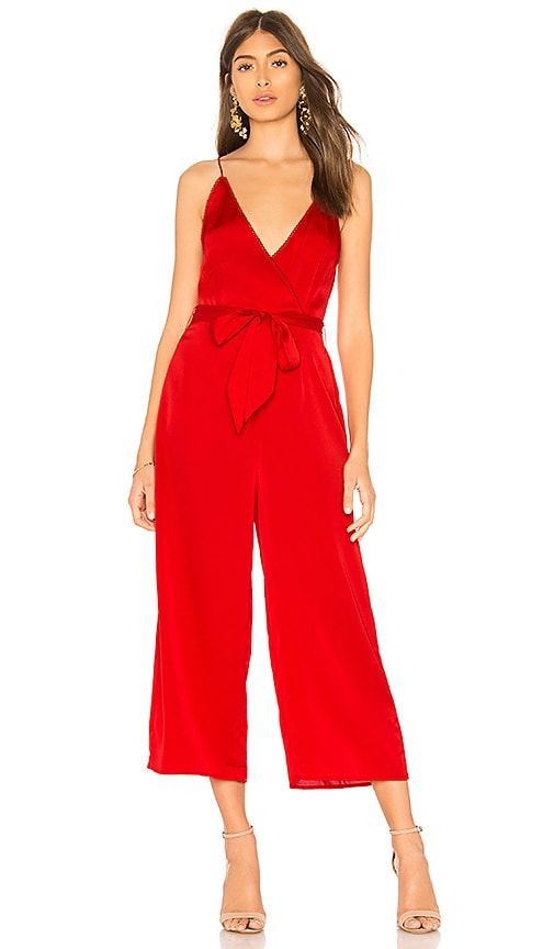 The Fifth Label Moonlit Jumpsuit in Red