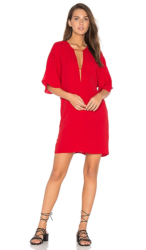 The Fifth Label The Wanderer Dress in Red