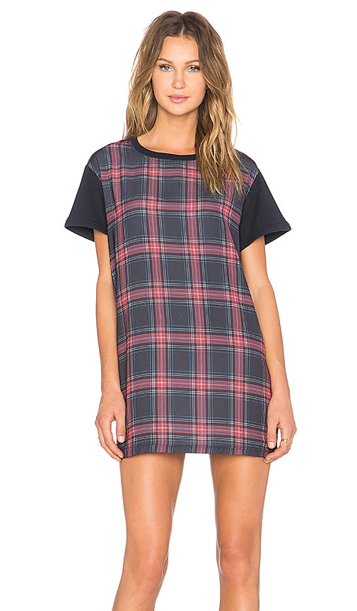 The Fifth Label Building Blocks T-Shirt Dress in Navy