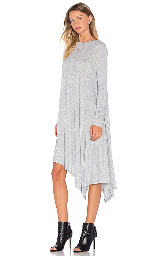 The Fifth Label Time Lapse Long Sleeve Dress in Gray