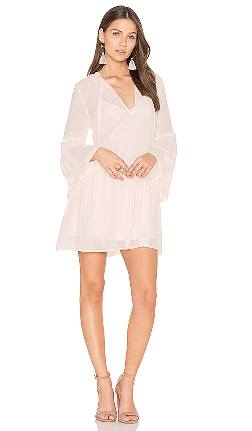 The Fifth Label Voyage Shift Dress in Blush