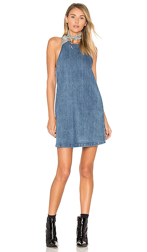 The Fifth Label One Way Ticket Dress in Blue