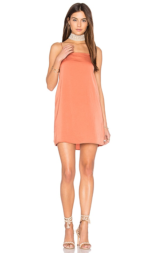 The Fifth Label The Nightingale Cami Dress in Rust