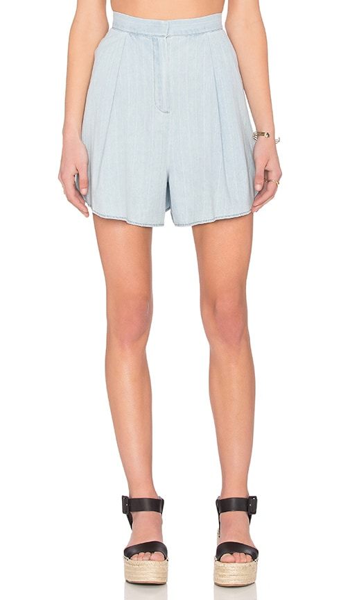 The Fifth Label Vantage Point Shorts in Blue
