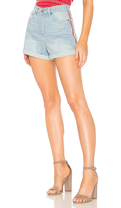 The Fifth Label Offshore Short in Washed Blue