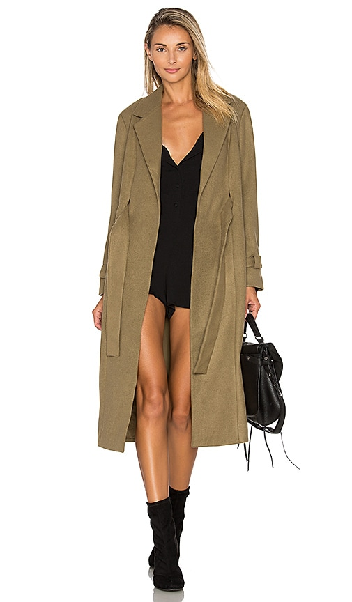 The Fifth Label Waiting On The Sun Coat in Olive