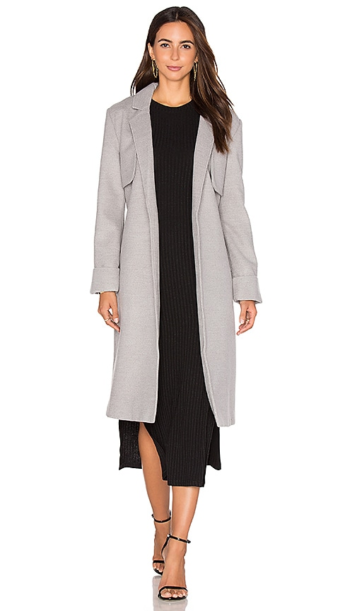 The Fifth Label Paint Palette Coat in Grey Marle