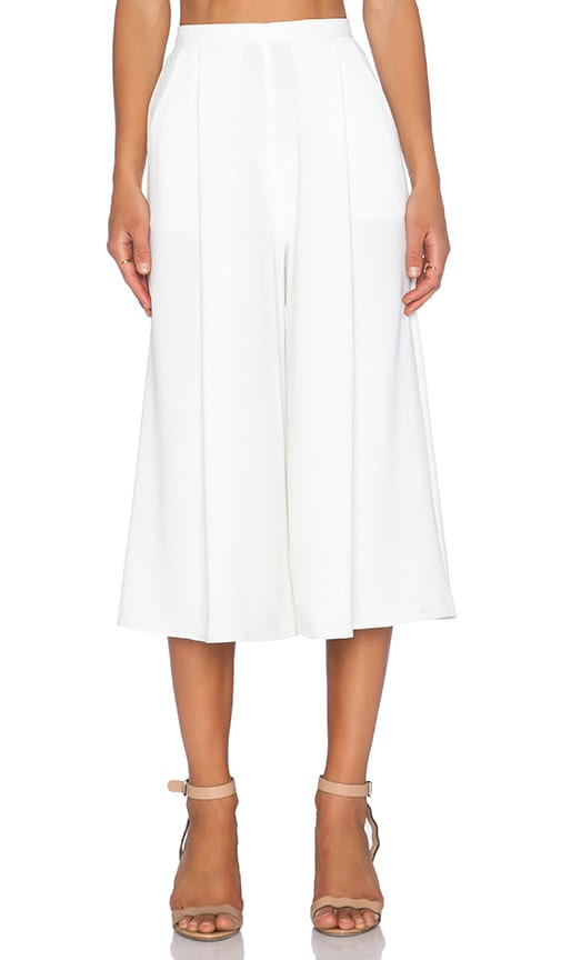 The Fifth Label Sun & Moon Culotte Pant in Ivory