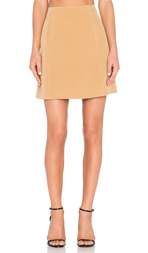 The Fifth Label Front Row Skirt in Tan