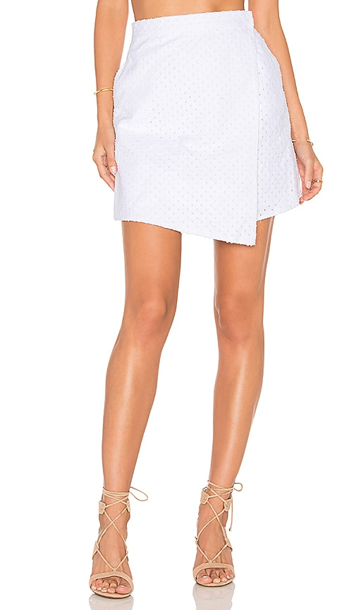The Fifth Label The Arrivals Skirt in White