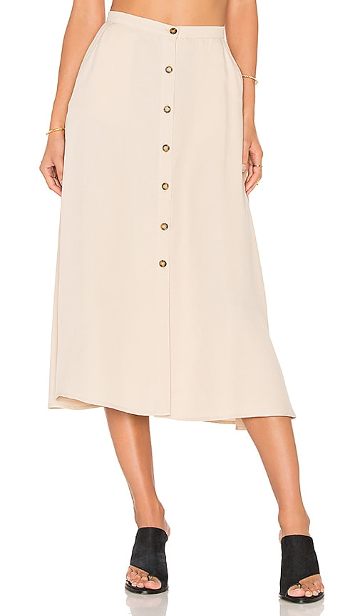 The Fifth Label Born Free Skirt in Beige