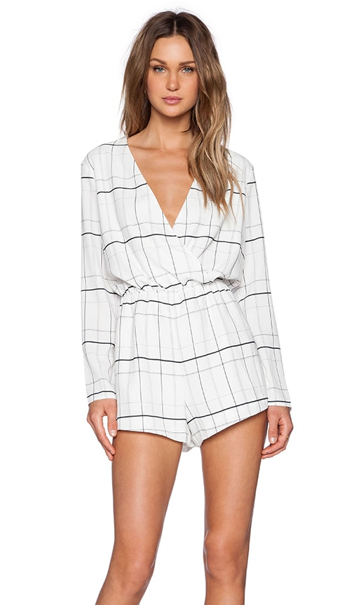 Party Talk Playsuit