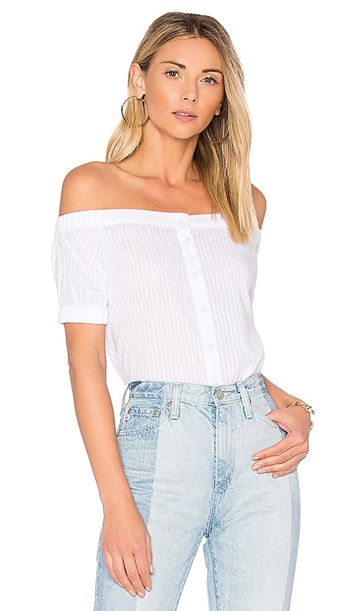 The Fifth Label Sun Valley Top in White