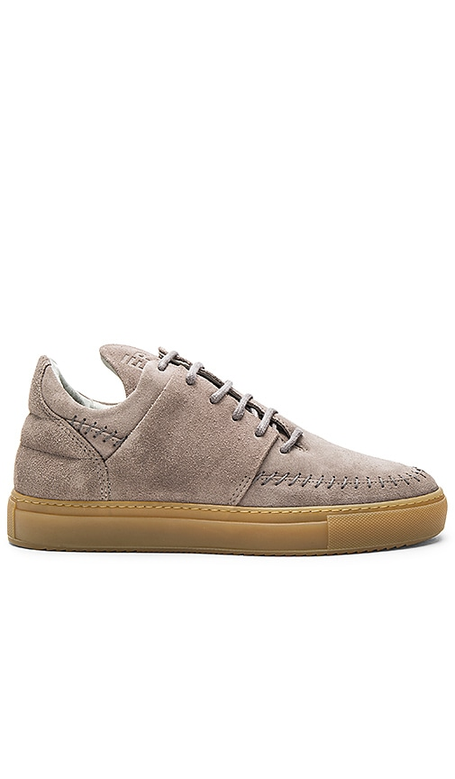 Filling Pieces Low Top Apache Suede in Gray