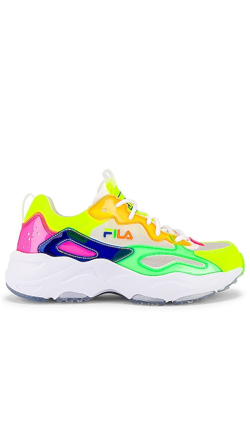 Fila Ray Tracer TL Sneaker in White
