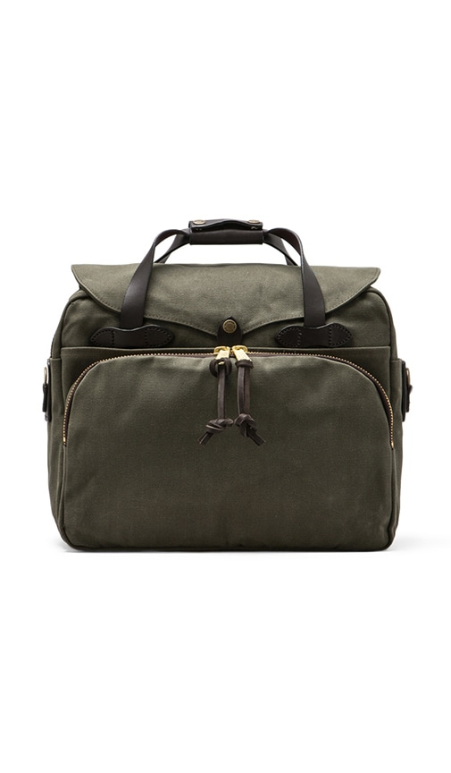 Filson Padded Laptop Bag in Otter Green