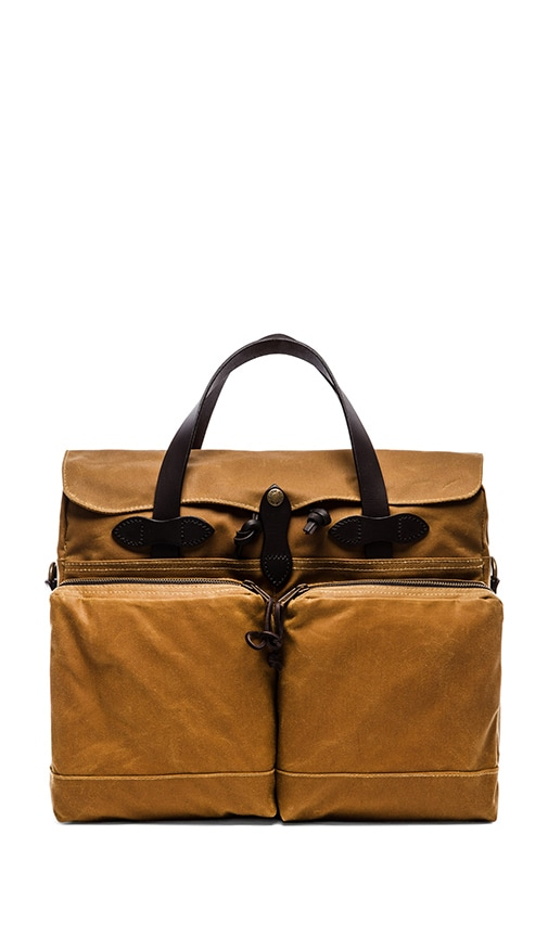 72 Hr Tin Cloth Briefcase