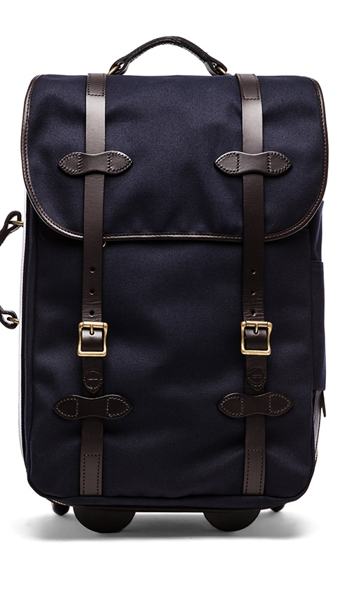 Twill Wheeled Carry on