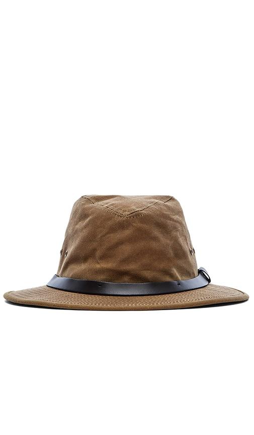 b92d3bed62b43 Filson Tin Cloth Packer Hat in Dark Tan | REVOLVE