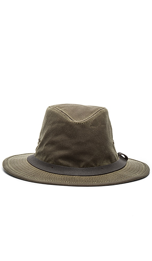 Filson Shelter Packer Hat in Army
