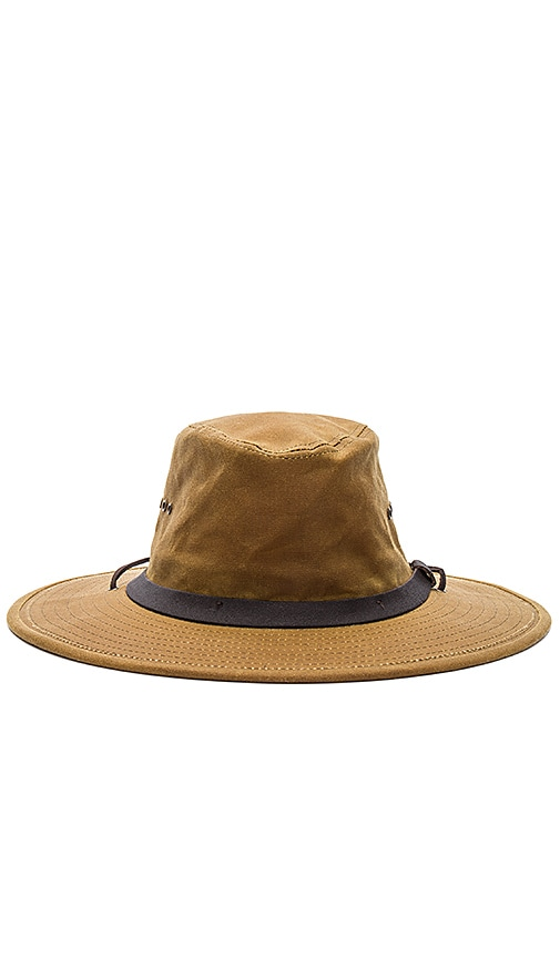 Filson Tin Bush Hat in Brown