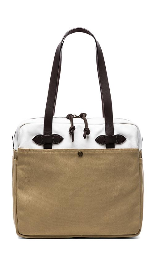 Canvas Zip Top Tote Bag