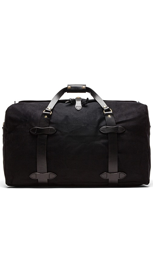 The Black Collection Medium Twill Duffle Bag