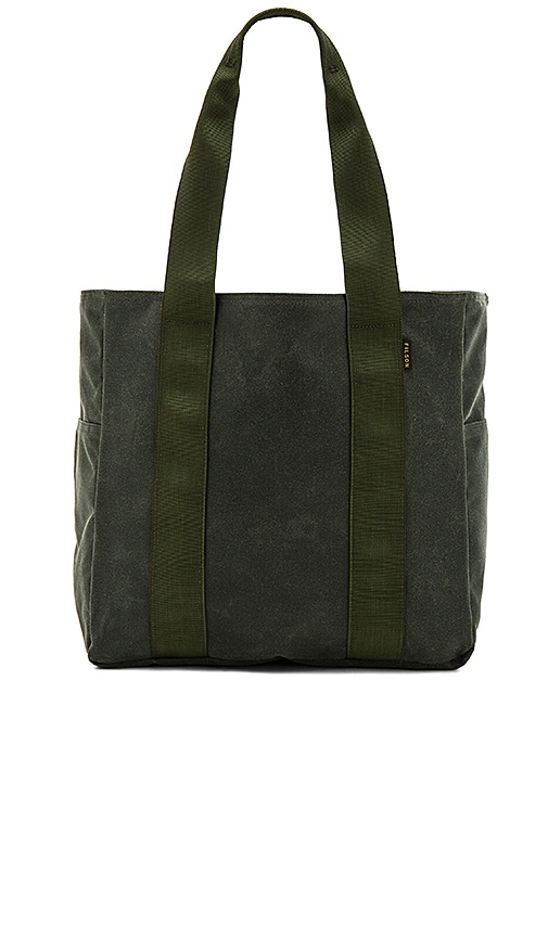 Filson Medium Grab N Go Tote in Spruce | REVOLVE