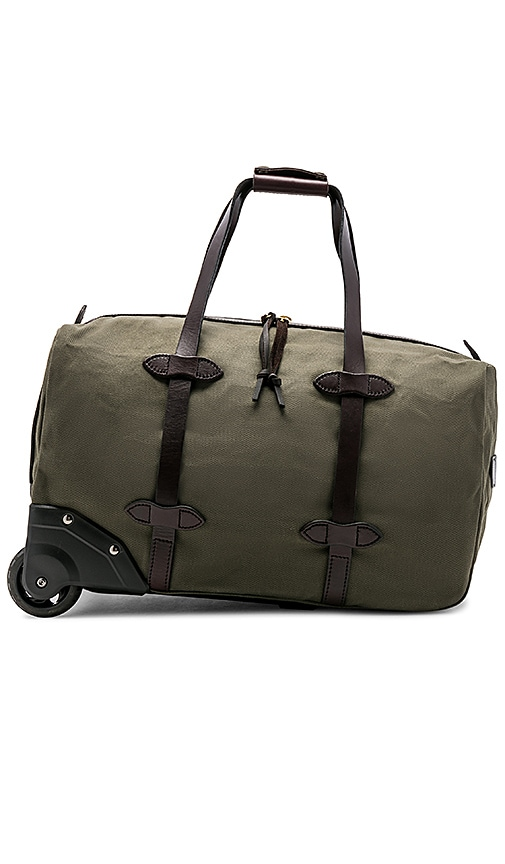 903428a919b6 Filson Small Rolling Duffle in Otter Green