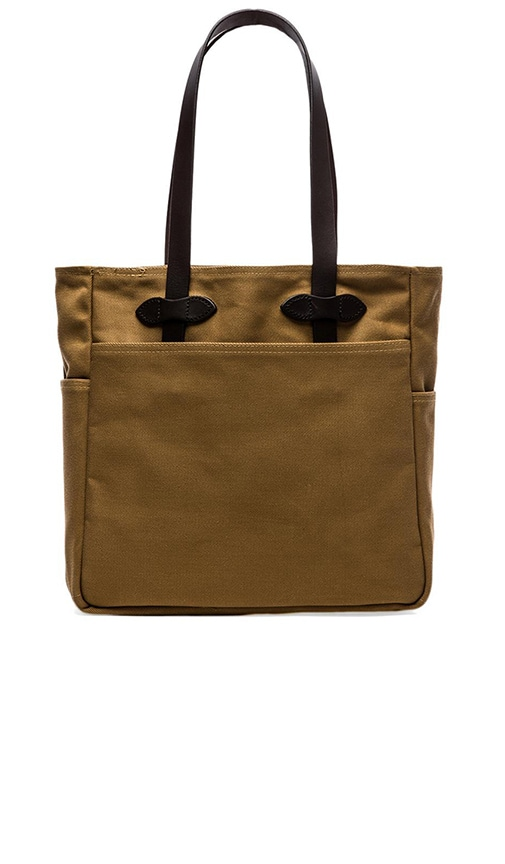 Filson Open Tote Bag in Navy