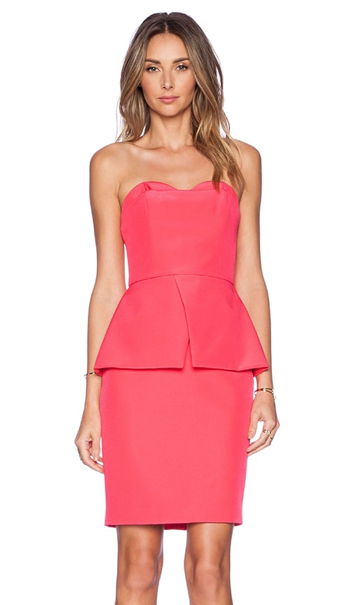 Finders Keepers Mad House Dress in Paradise Pink