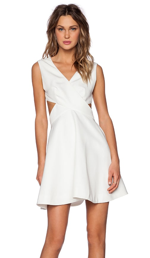 Finders Keepers Glory of Love Dress in White