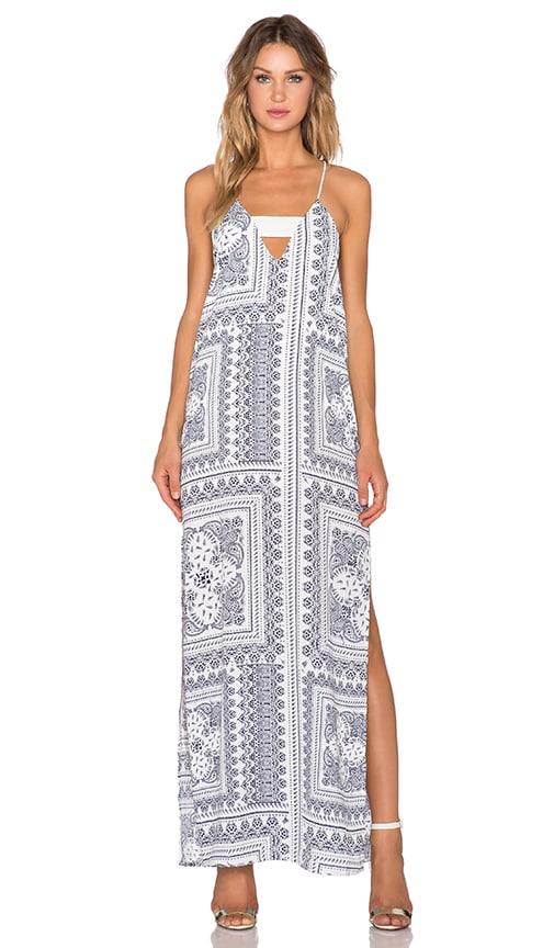 Finders Keepers Midnight Maxi Dress in Bandana Light