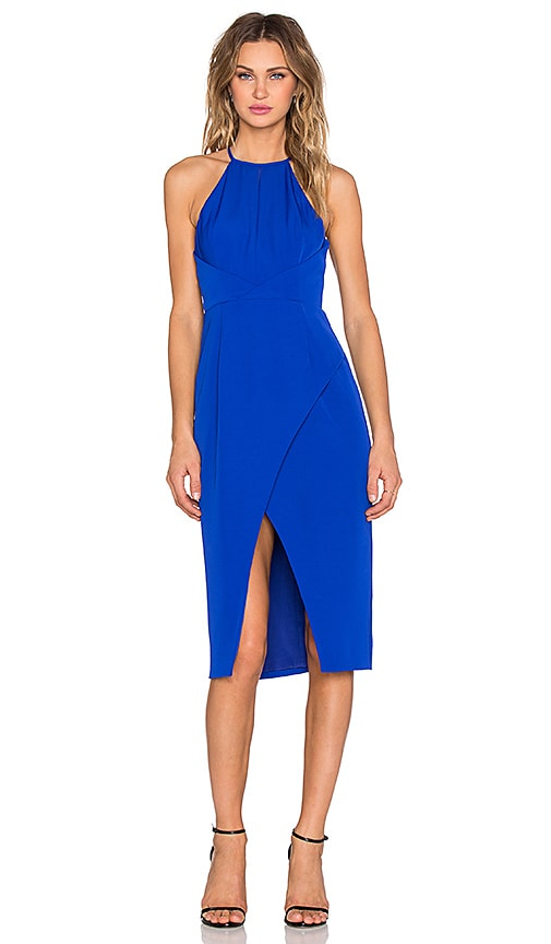 Finders Keepers Guilty Pleasure Dress in Blue