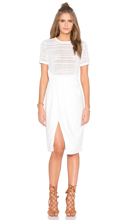 Finders Keepers My Mind Dress in White