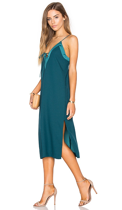 Finders Keepers Yesterdays Dress in Teal