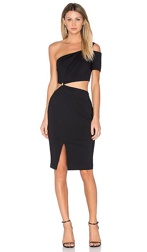 Finders Keepers Latrobe Dress in Black