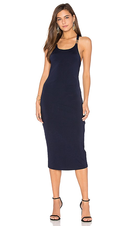Finders Keepers Eames Dress in Navy