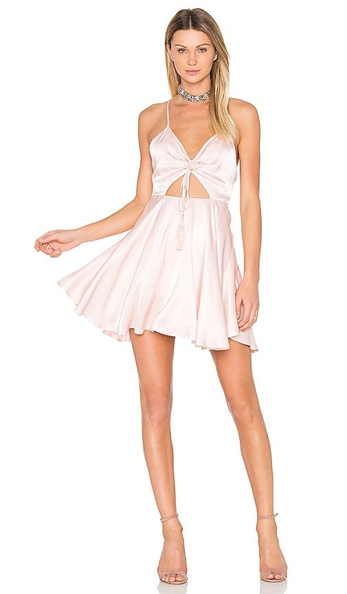 Finders Keepers Fernando Mini Dress in Pink