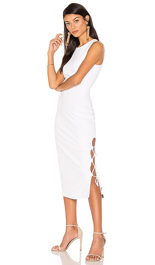 Finders Keepers Weston Dress in White