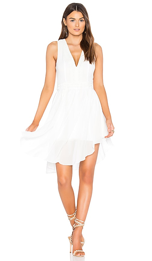 Finders Keepers Maison Mini Dress in White