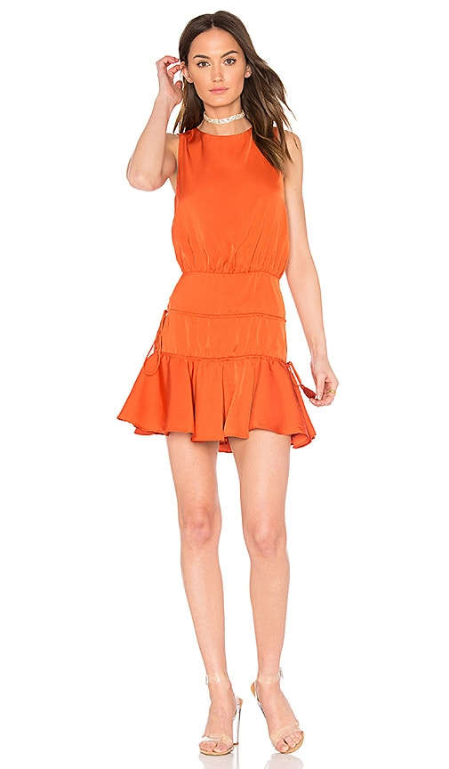 Finders Keepers Stevie Mini Dress in Orange
