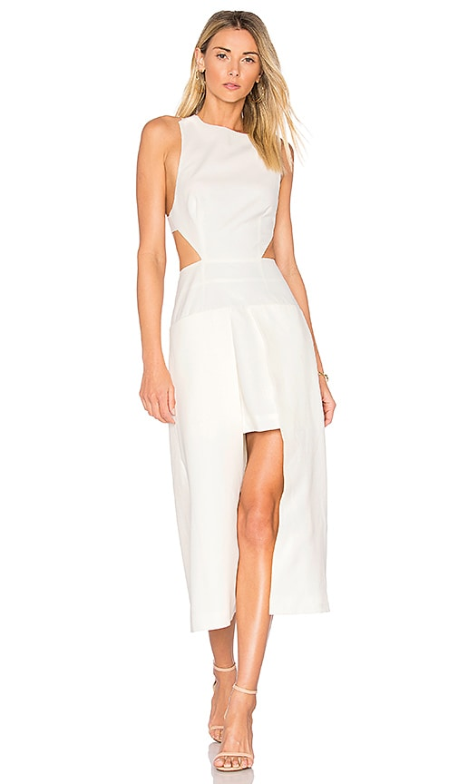 Finders Keepers Lara Dress in White