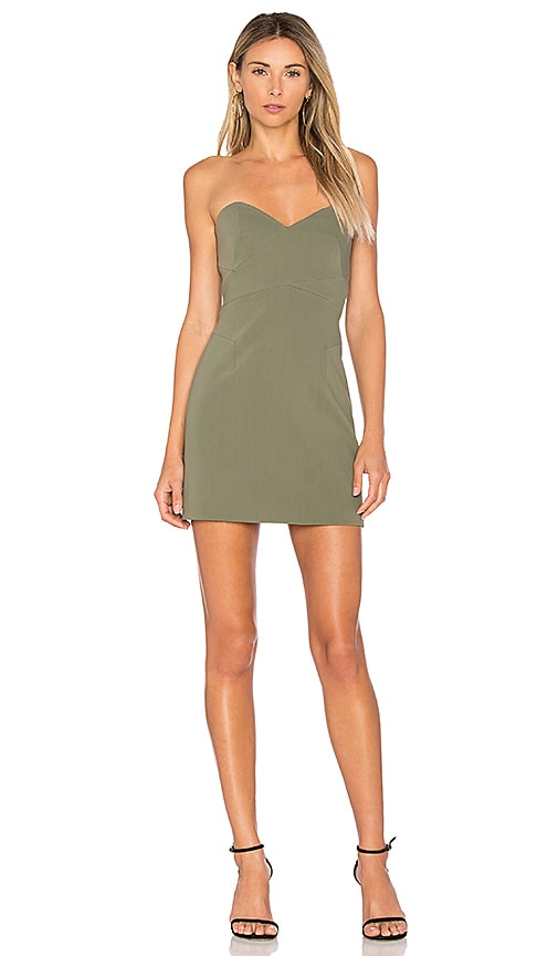 Finders Keepers No Light Dress in Army