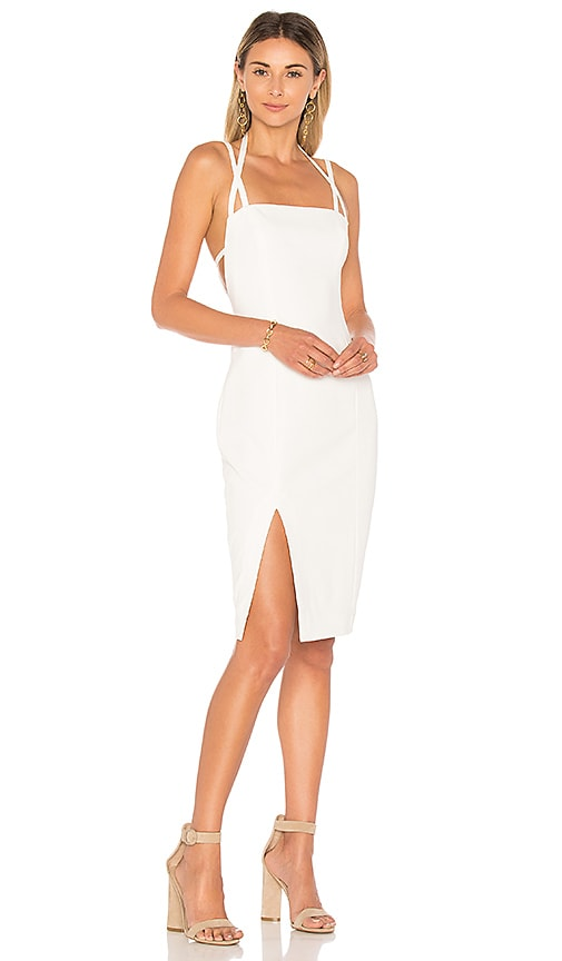 Finders Keepers Mirror Image Dress in Ivory