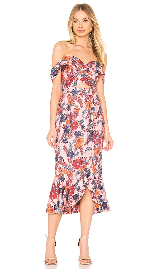 2c204e545e7f Finders Keepers Rhapsody Midi Dress in Blossom Floral | REVOLVE